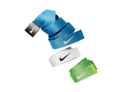 Nike Tech Essentials Web Golf Belt (3 Pack) - $45