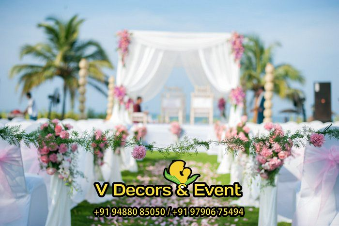 Pin by Wedding Decorators on Engagement Decorations in Pondicherry ...