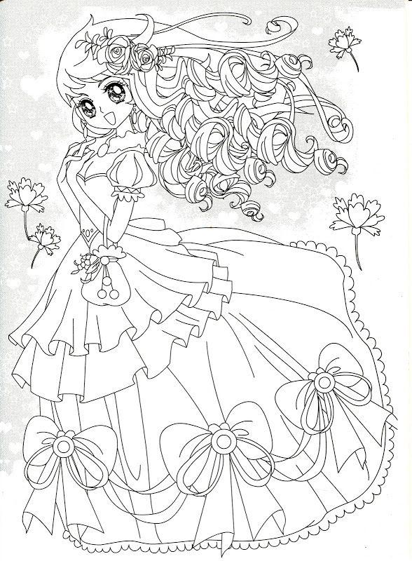 Coloring Book Girl In Pink Disney Princess Coloring Pages Princess Coloring Pages Coloring Books
