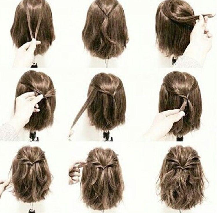 Frisur Prufung Haar Styling Kurze Haare Anleitungen Frisuren