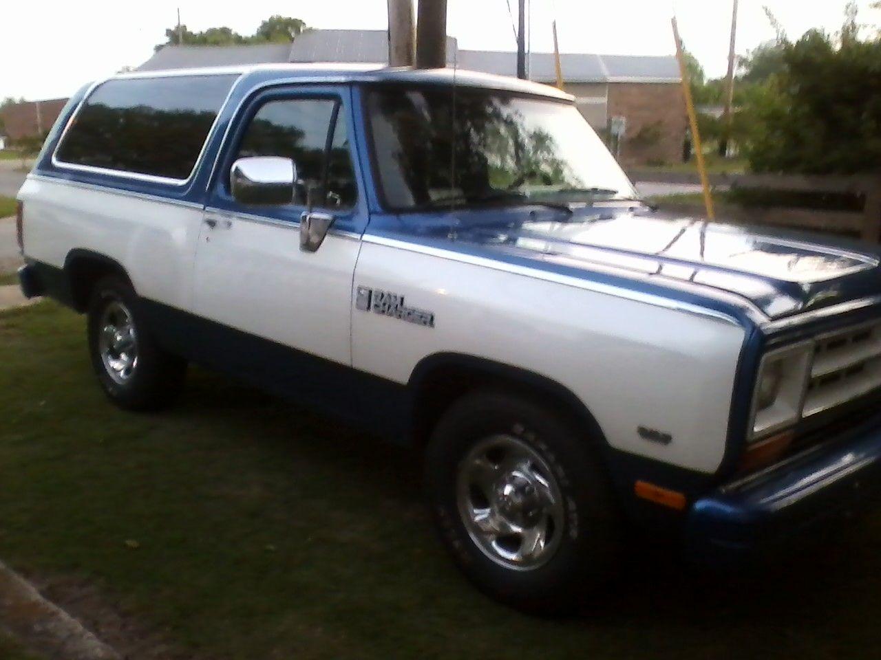 1988 Dodge Ram Charger Completely Restored Old Dodge Trucks Dodge Trucks Dodge Ramcharger