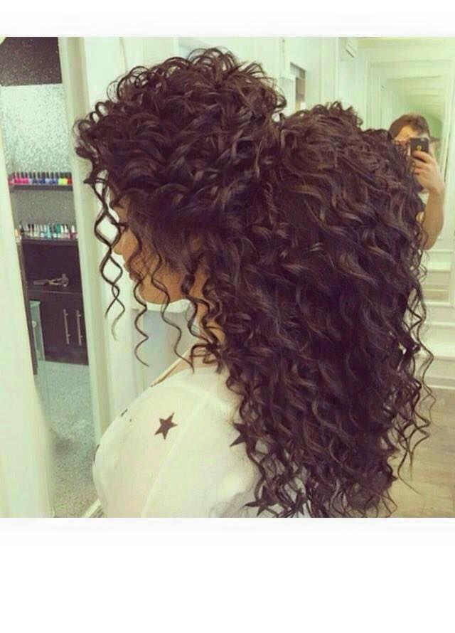 Magnifique Coiffure Produtinhos Pinterest Curly Hair Styles