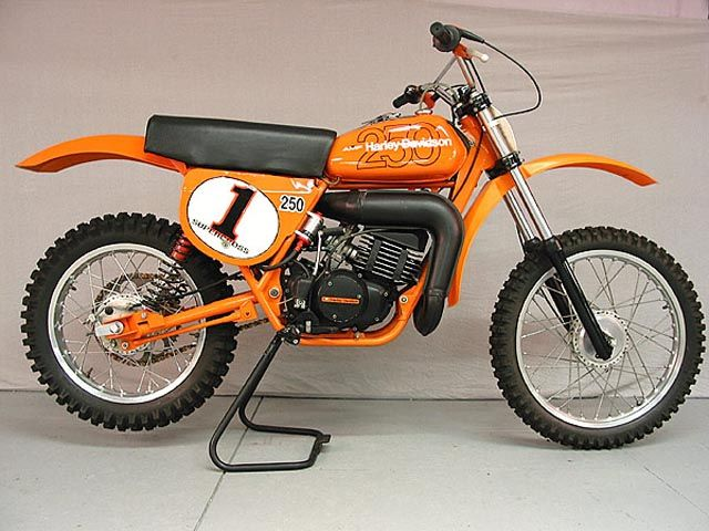 Harley Davidson Mx250 1977 Manufactured By Aermacchi In Italy Motos Montesa