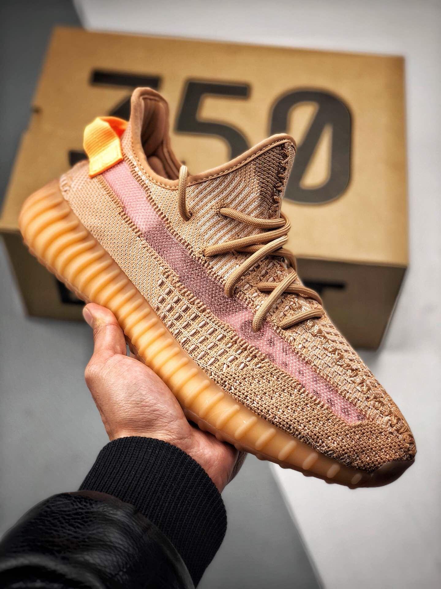 adidas yeezy stivali 350 v2 clay