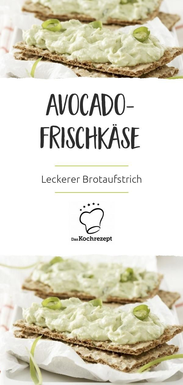 Avocado-Frischkäse – Carey&CleanEatingS