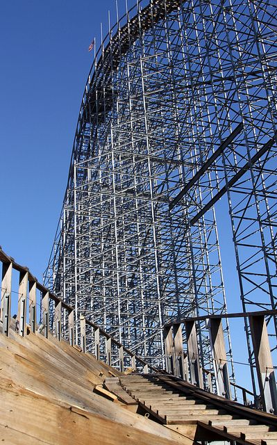 An office with a view | Voyage Roller Coaster | Amusement ...