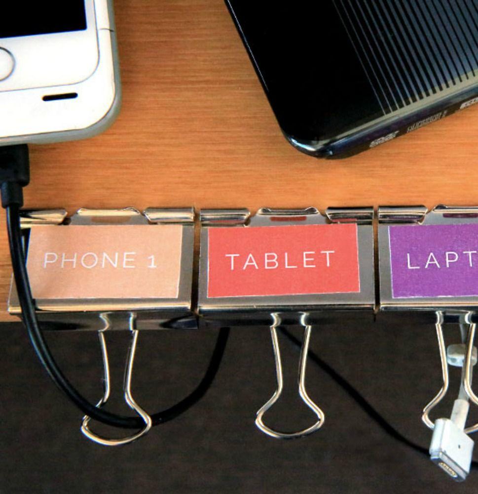 How to make a cord organizer | Rezept | Tips and Tricks ...