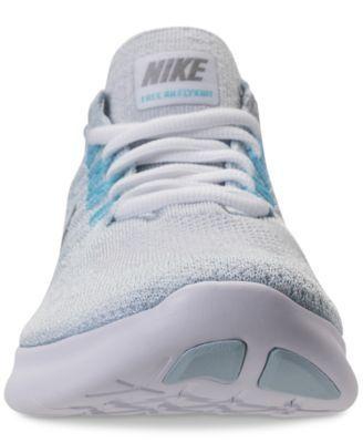 247d47d8ed48 Nike Women s Free Run Flyknit 2017 Running Sneakers from Finish Line - Black  9.5 http