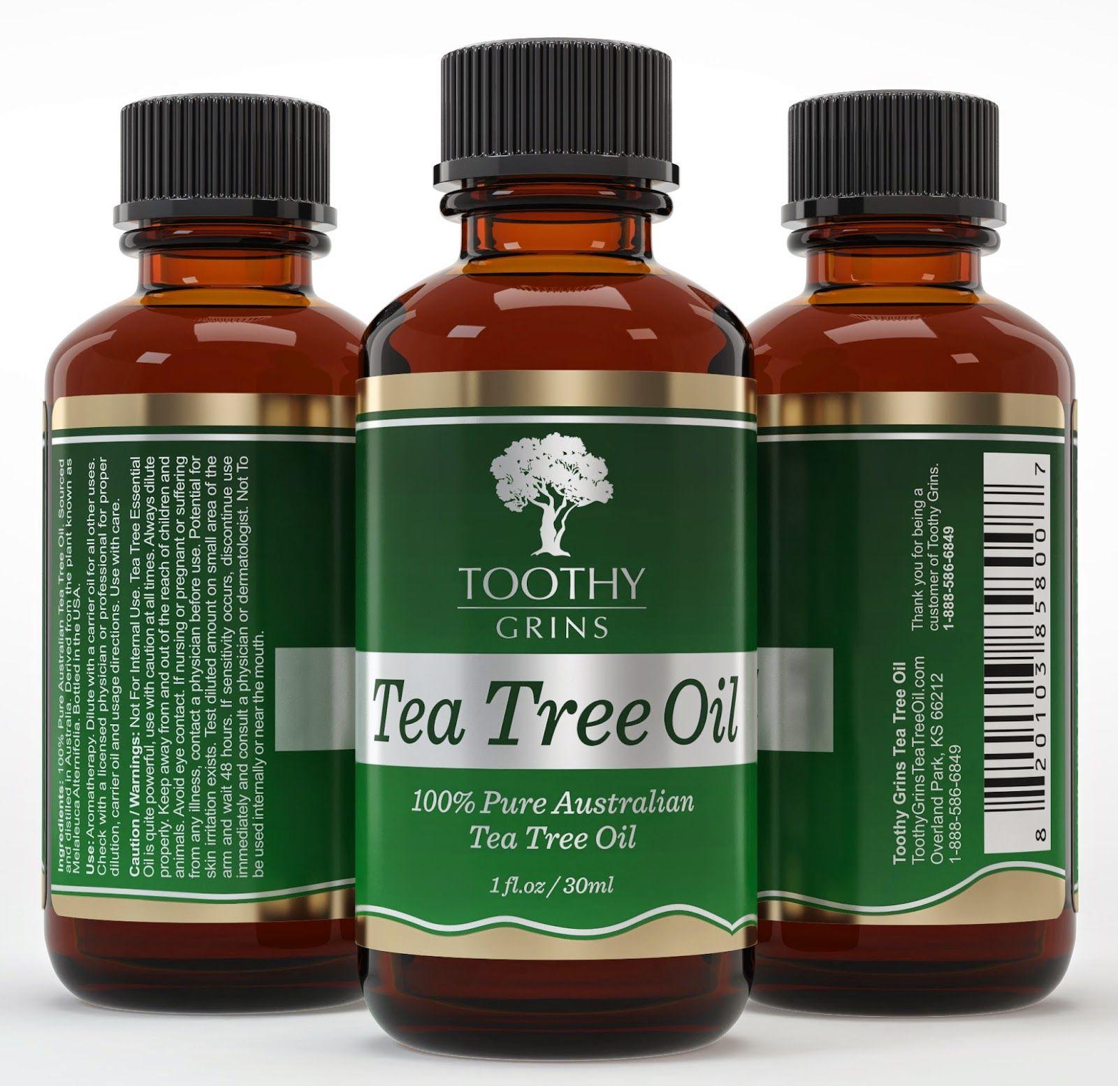 Tea Tree Oil 3 Bottle View Tea tree oil, Essential oil