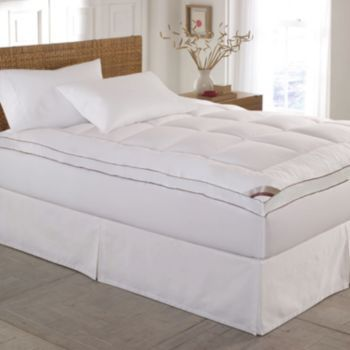 Kathy Ireland 2 In Down Alternative Quilted Deep Pocket Mattress Topper Mattress Mattress