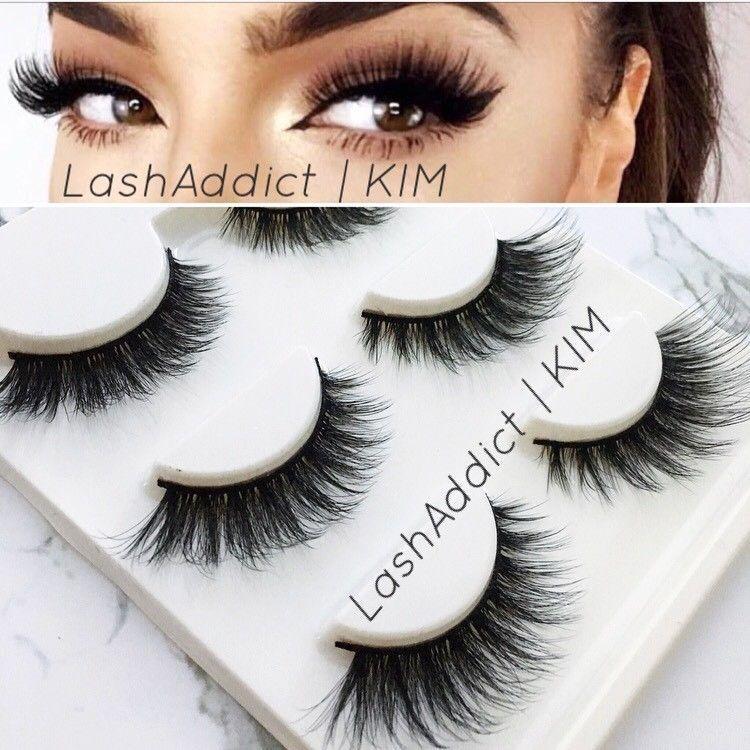 5ad63ef04a6 VEGAS Mink Lashes Eyelashes 3D Flutter 3 pairs Makeup Siberian New US SELLER  #MinkFur