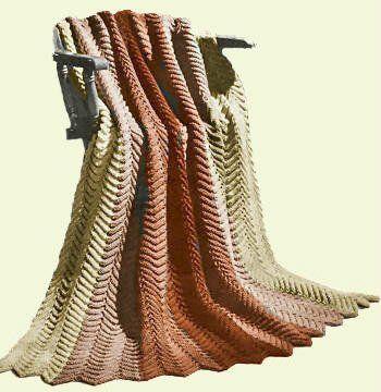 Free Harmony Ripple Afghan Crochet Pattern - Mary Maxim | chrochet ...