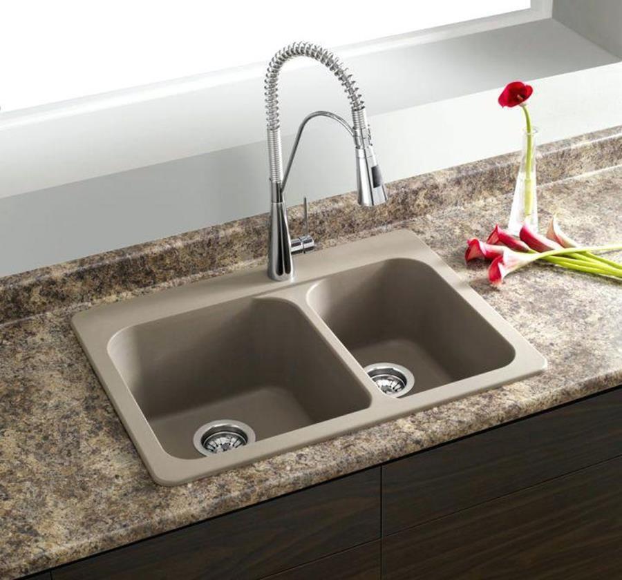 Inspiring Granite Composite Farmhouse Sink Ideas Decor Renewal Top Mount Kitchen Drop In Modern Sinks