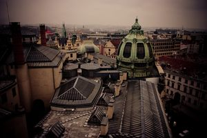 View from Powder Tower, http://www.bihiprague.com/photo-tours-in-prague/  #photographyinprague #streetphotographyinprague #phototoursinprague #35mmphotographyprague #privatephototoursinprague #photography