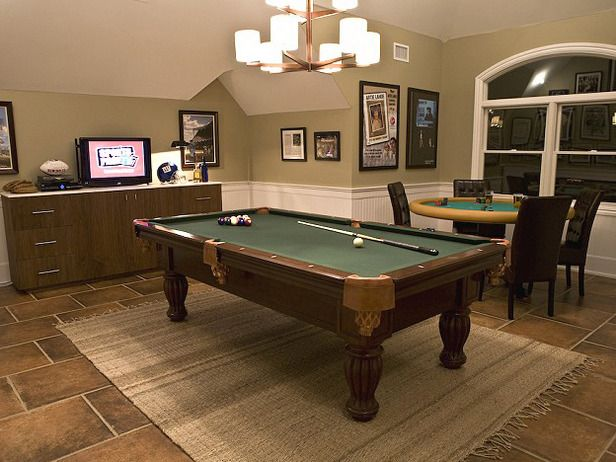 Discovery Channel Man Cave Show : Awesome rooms from man caves poker table tvs and future