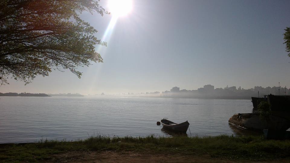 Foto  tirada  na  manha de  sexta  14/09 na Ilha da Pintada