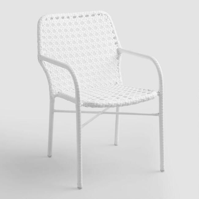 white tyler open weave stacking chairs set of 2 v1 project
