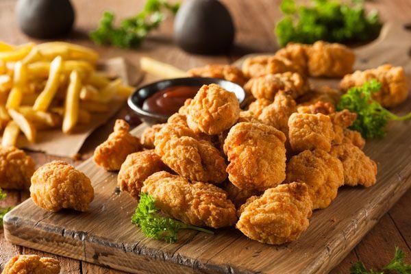 تحضير بوب كورن الدجاج Chicken Pop Corn مجلة البيت اللبناني Chicken Food Chicken Pop