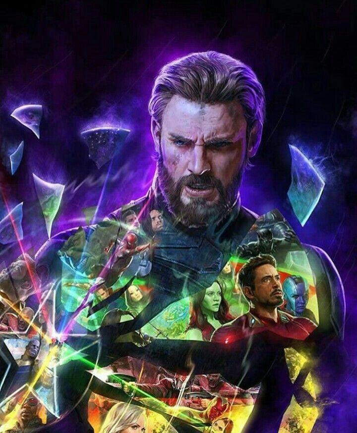 Avengers Infinity War Artwork Vingadores Marvel Vingadores
