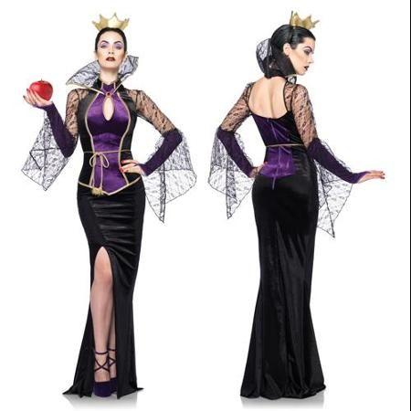 Sexy evil queen costume