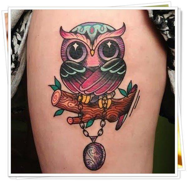 tatuagem de coruja significado