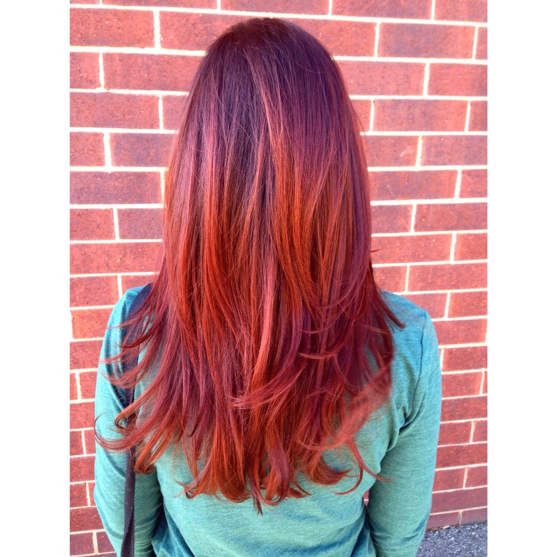 Radiant Red Using J Beverly Hill Color Color Done By Master Stylist