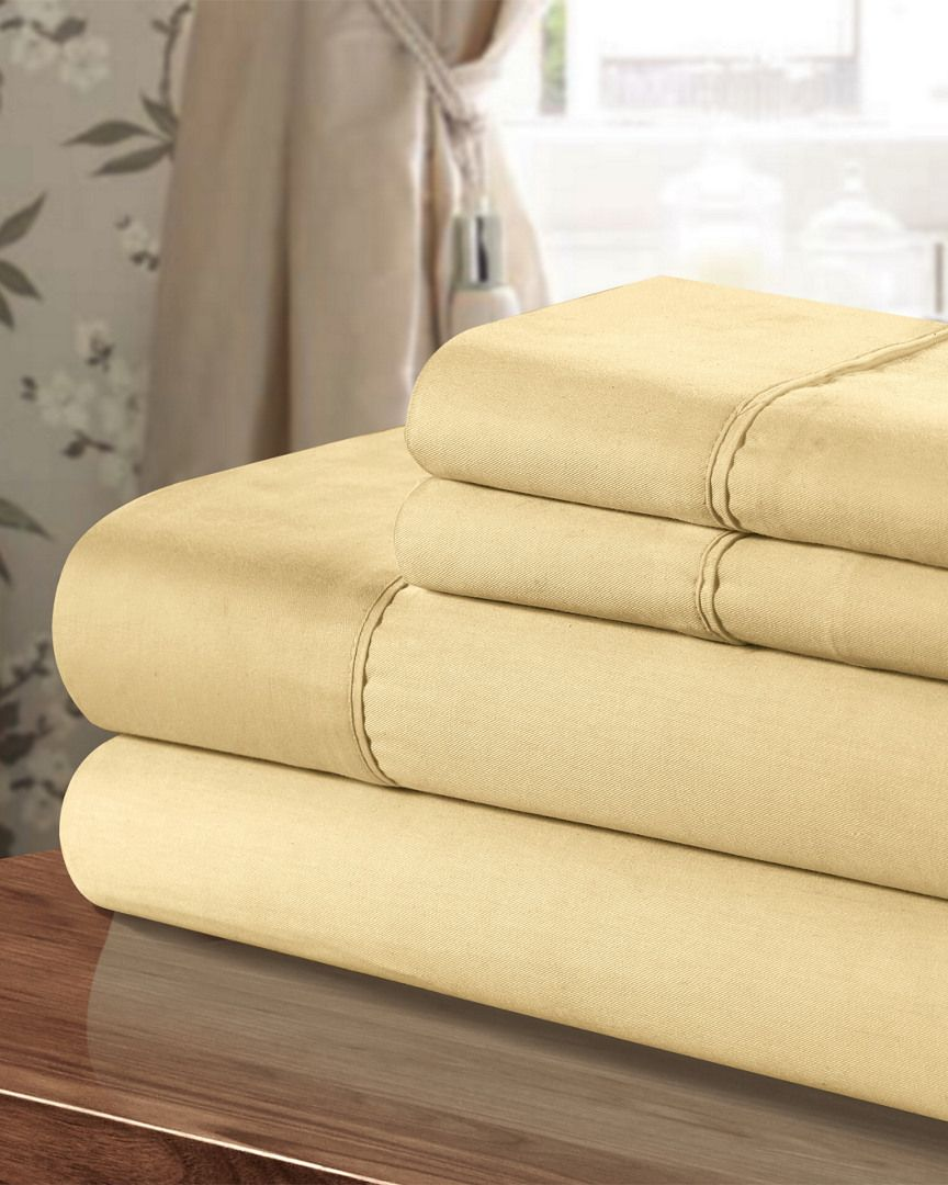 300TC Egyptian Cotton Sheet Set is on Rue. Shop it now.