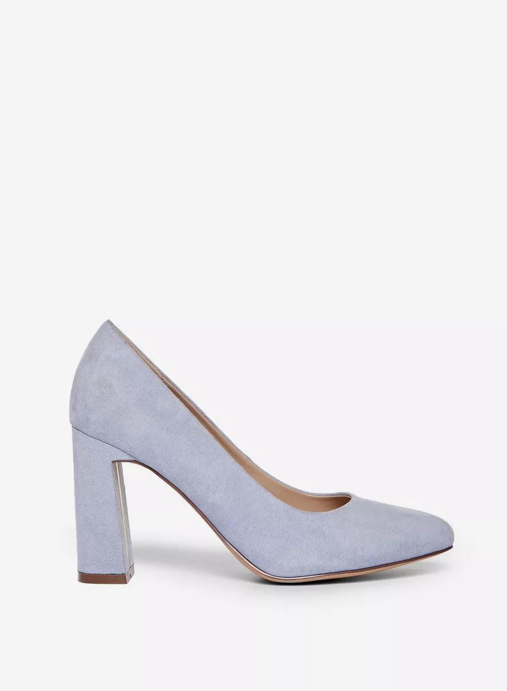 Wide Fit Blue Comfort Diana Court Shoes Blue Comfort Court Shoes Shoes