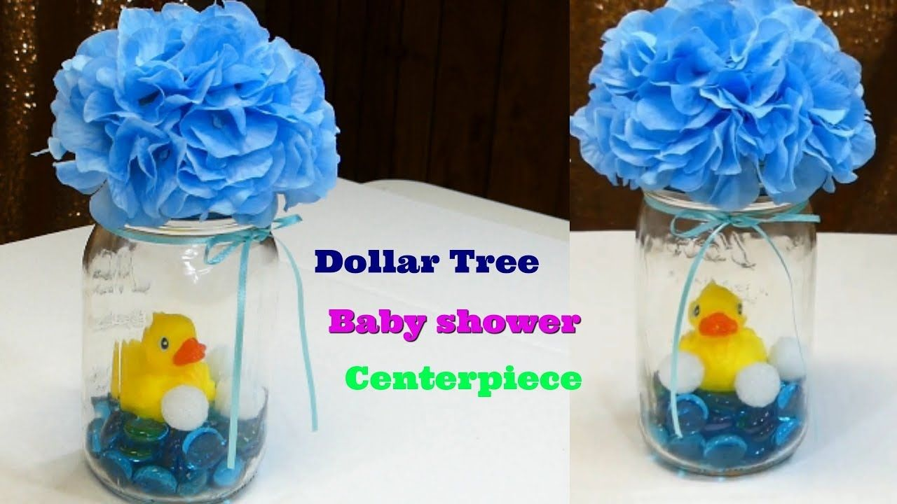 dollar tree baby shower centerpiece youtube baby pinterest rh pinterest com YouTube Baby Shower Ideas Baby Shower Candy Table Decoration