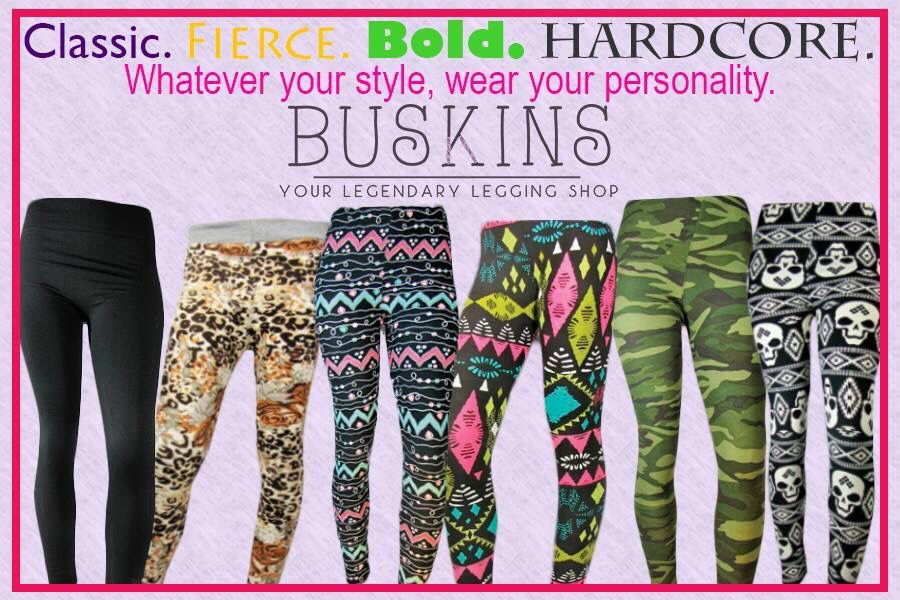 Do you want to get paid to wear awesome leggings, ask me how?  Www.mybuskins.com/#megwalls