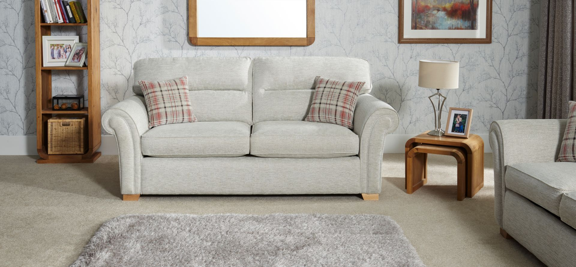 Chiltern 3 Seater Standard Back Fabric Sofa Scs Snuggle Chairs Sofa Shop Seater Sofa