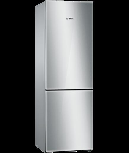 Bosch B10cb80nvs Free Standing Fridge Freezer With Freezer At Bottom Glass Door Freestanding Fridge Stainless Steel Refrigerator Fridge