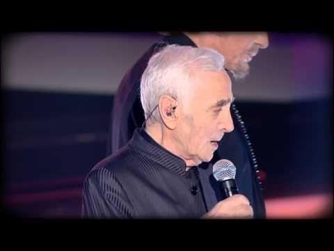 charles aznavour johnny hallyday sur ma vie f te de la chanson fran aise 2013 youtube. Black Bedroom Furniture Sets. Home Design Ideas