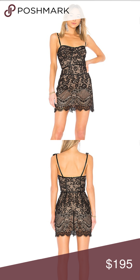 For Love And Lemons Tati Lace Corset Dress New With Tags