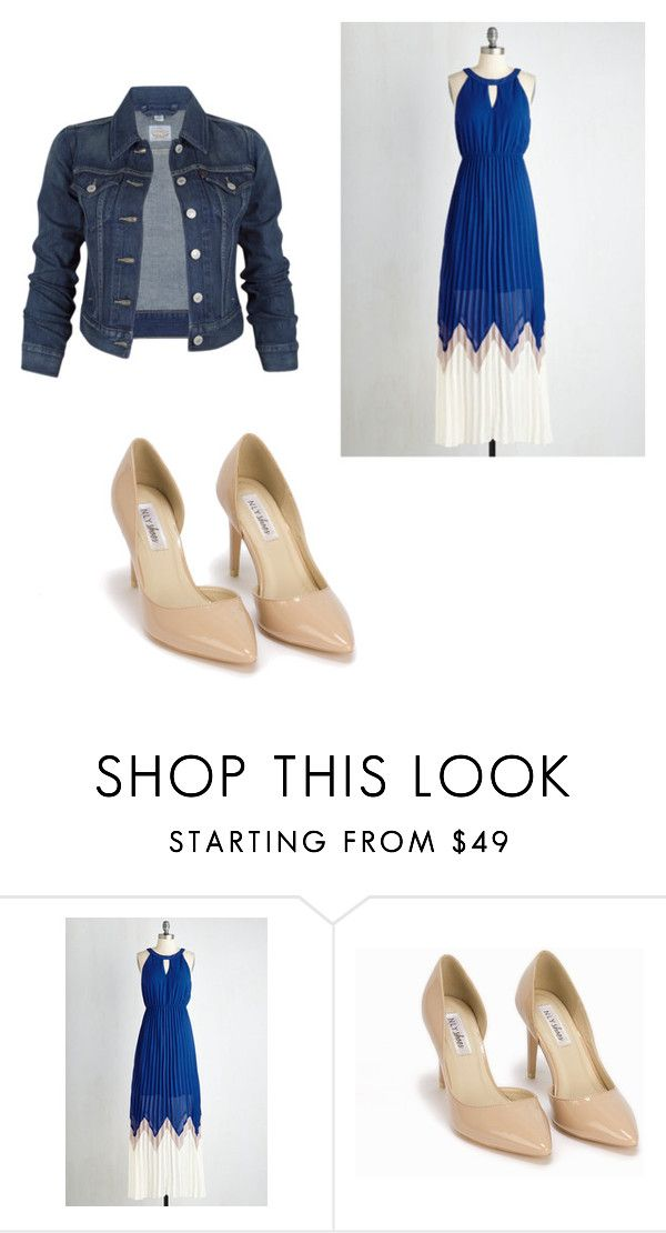 """Pentecostal fashion #132"" by pentecostalgirl1234 on Polyvore featuring Levi's and Nly Shoes"