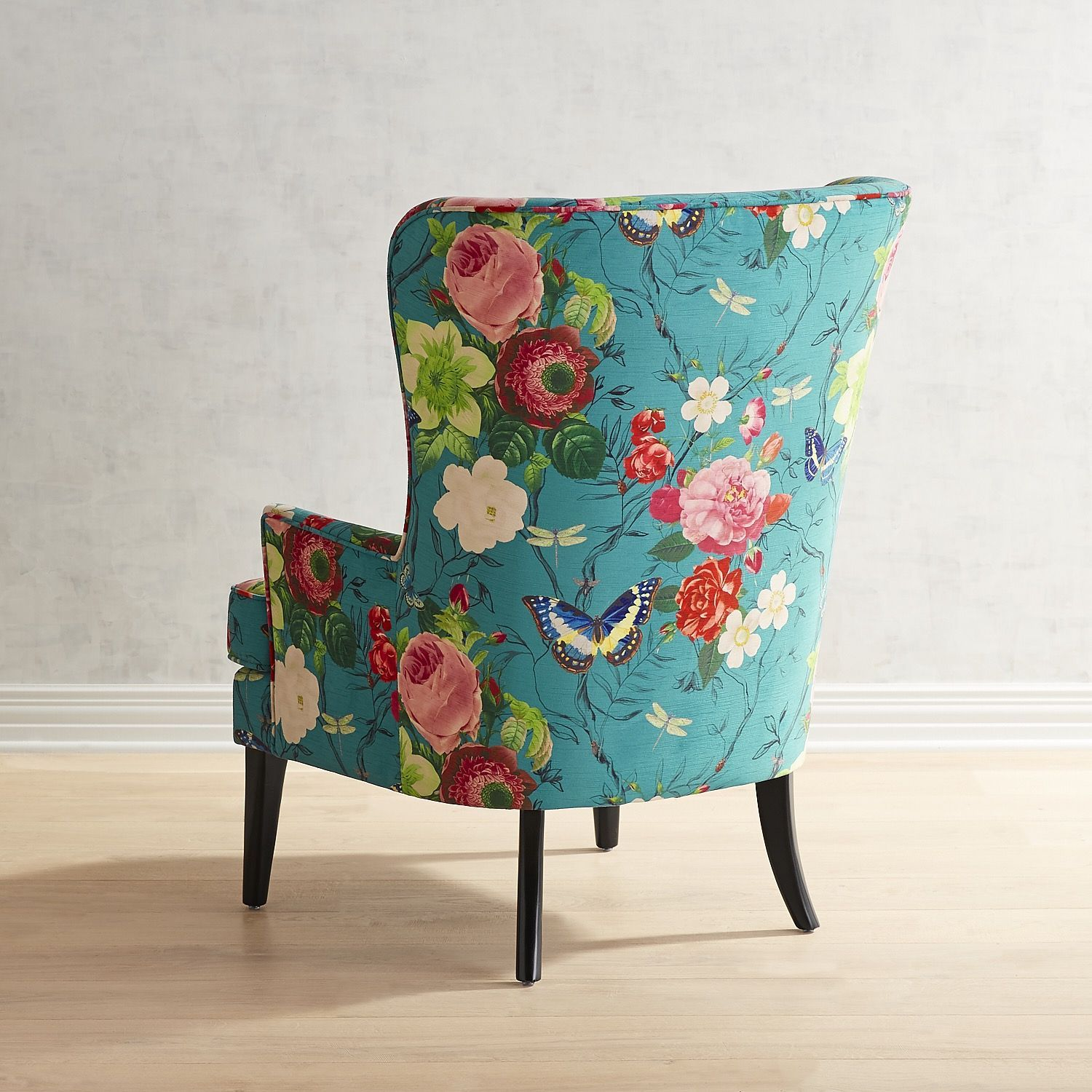 Asher Flynn Floral Print Chair In 2020 Floral Chair
