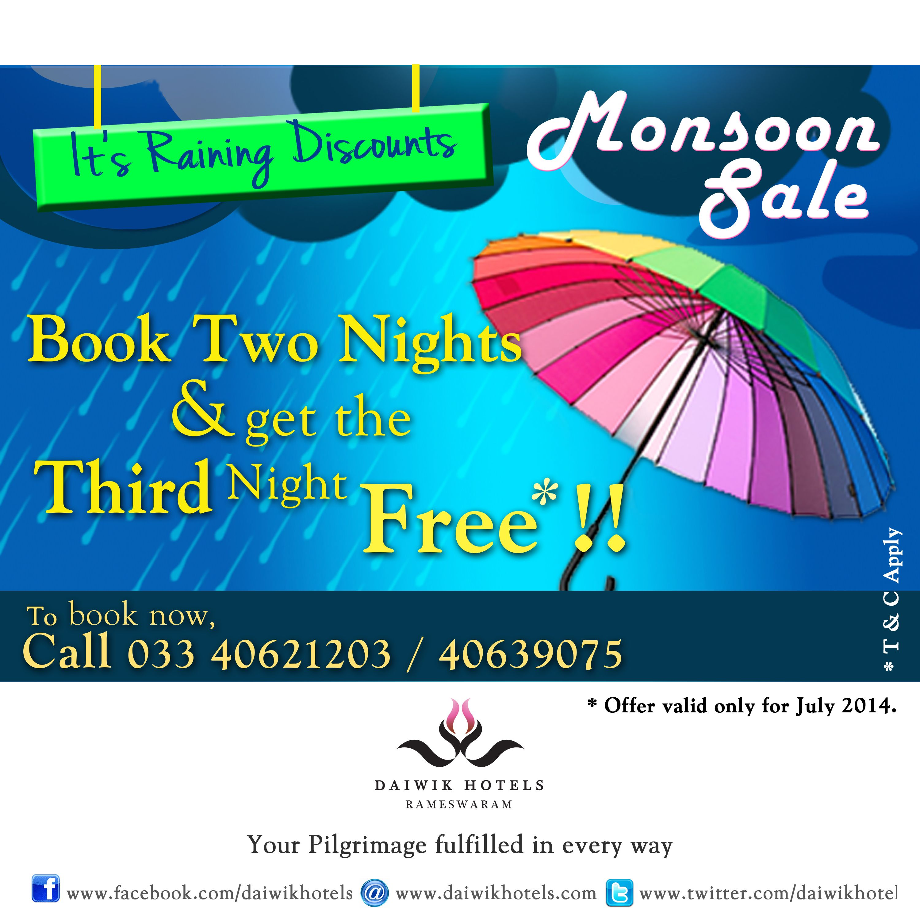 India s first pilgrimage hotel brings you the monsoon sale go on a fulfilling pilgrimage to