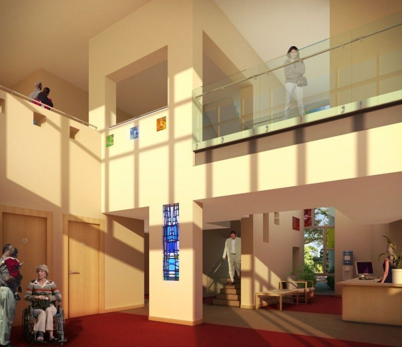 Marie Curie Hospice in Glasgow, United Kingdom