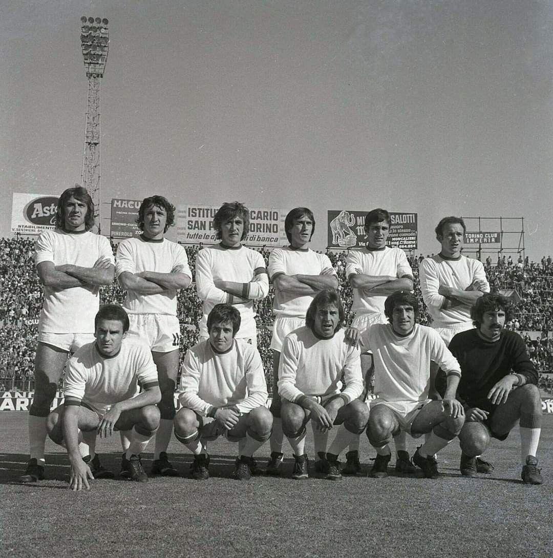 Roma 1974 75 Prati Spadoni Cordova Battistoni Peccenini Rocca Negrisolo De Sisti Morini Santarini Conti