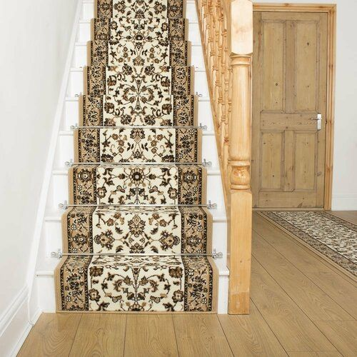 Photo of Teppich Addington in Beige/Braun Astoria Grand Teppichgröße: Läufer 60 x 840 cm