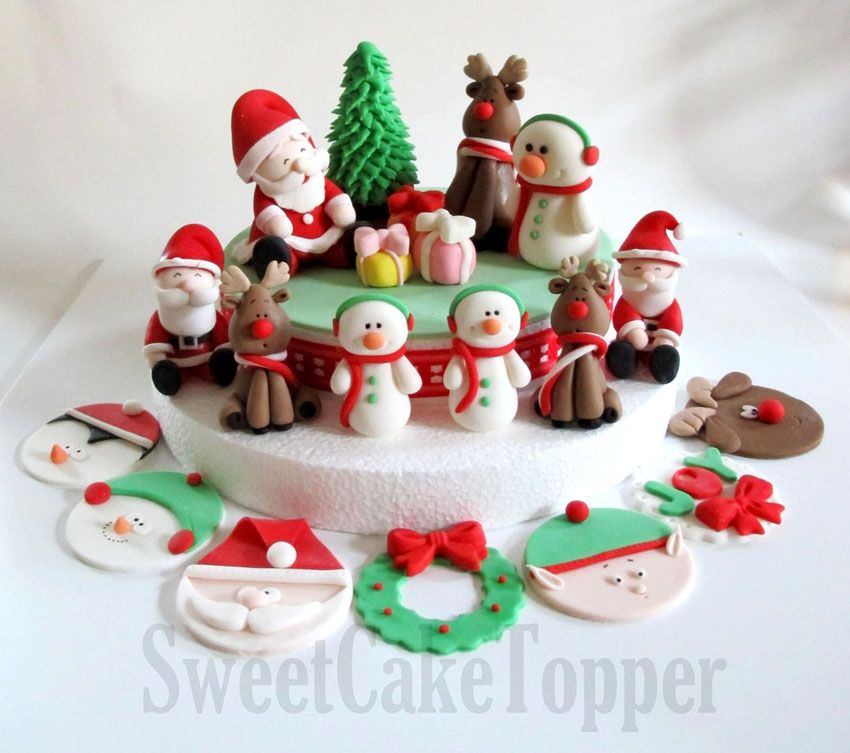 Christmas Cake Decoration Ideas Pinterest : 25 Beautiful Christmas Cake Decoration Ideas and design ...