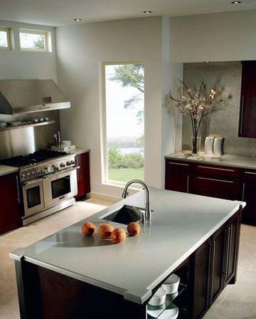 Plan de travail quel mat riau choisir cuisines - Quel plan de travail choisir pour une cuisine ...