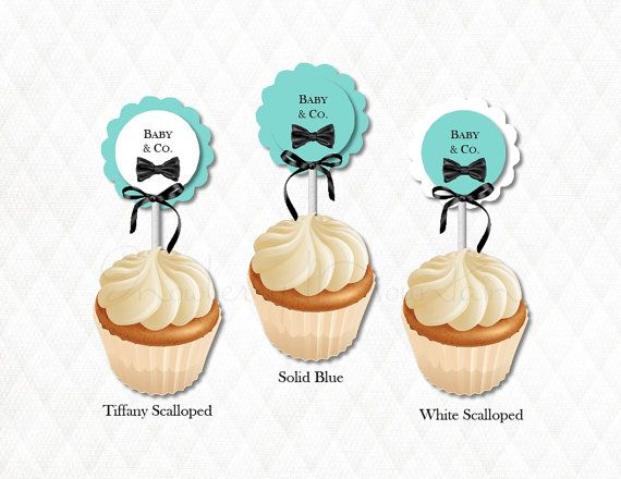 Tiffany & Co. Inspired Cupcake by SnowberryMountain on Etsy