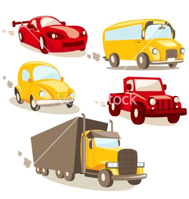 cars and trucks vector 276011 by kariiika on vectorstock