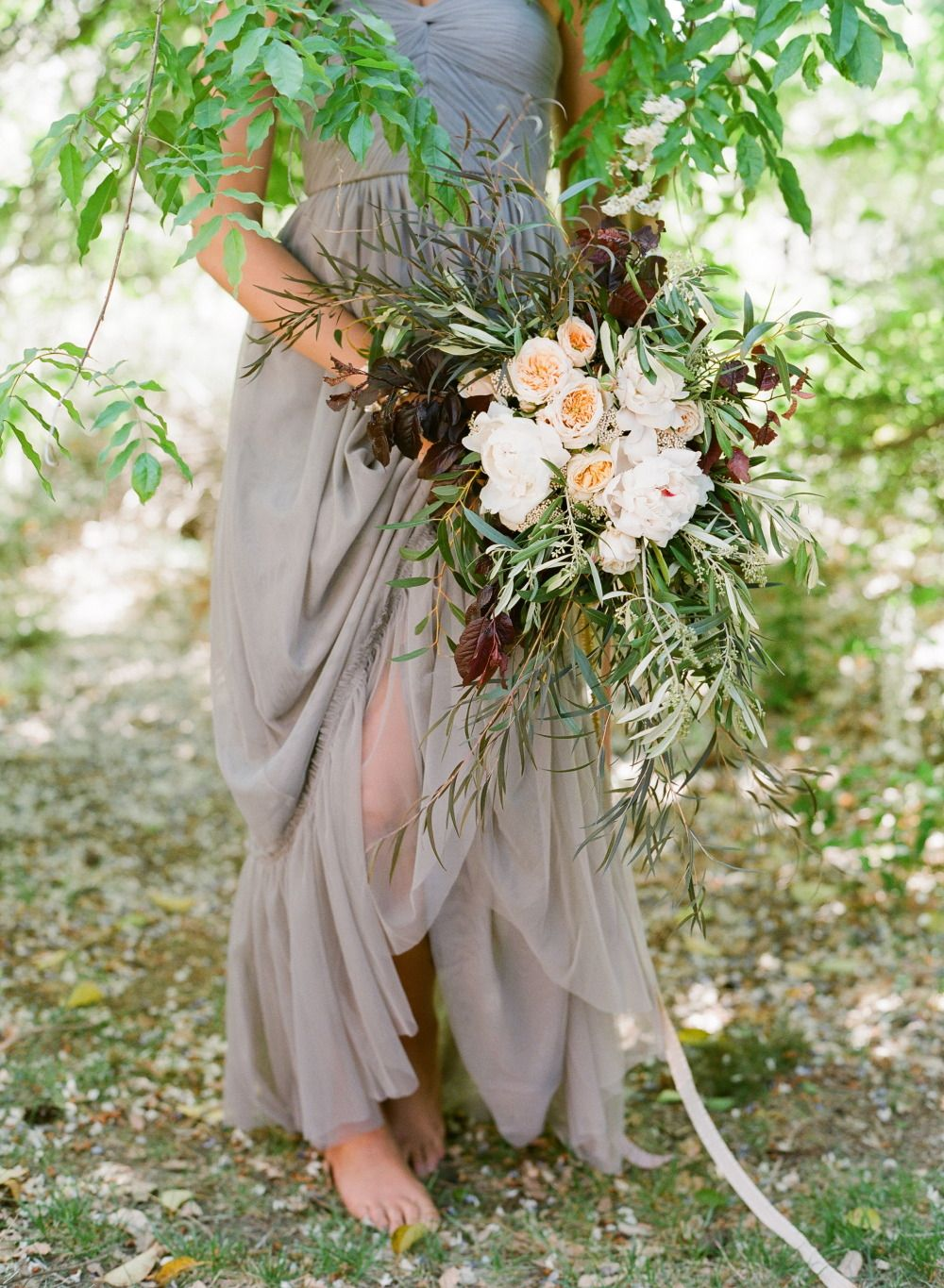 Design your wedding dress free  Where wild flowers are roaming free  Jose Villa  BOUQUETS