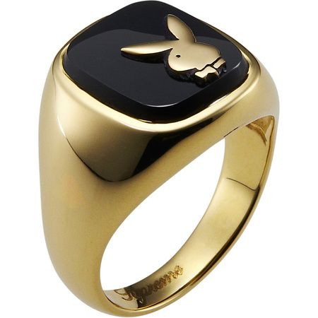 Lovely Supreme/Playboy® Gold Ring | PLAYBOY GIFTS | Pinterest | Gold  XL92