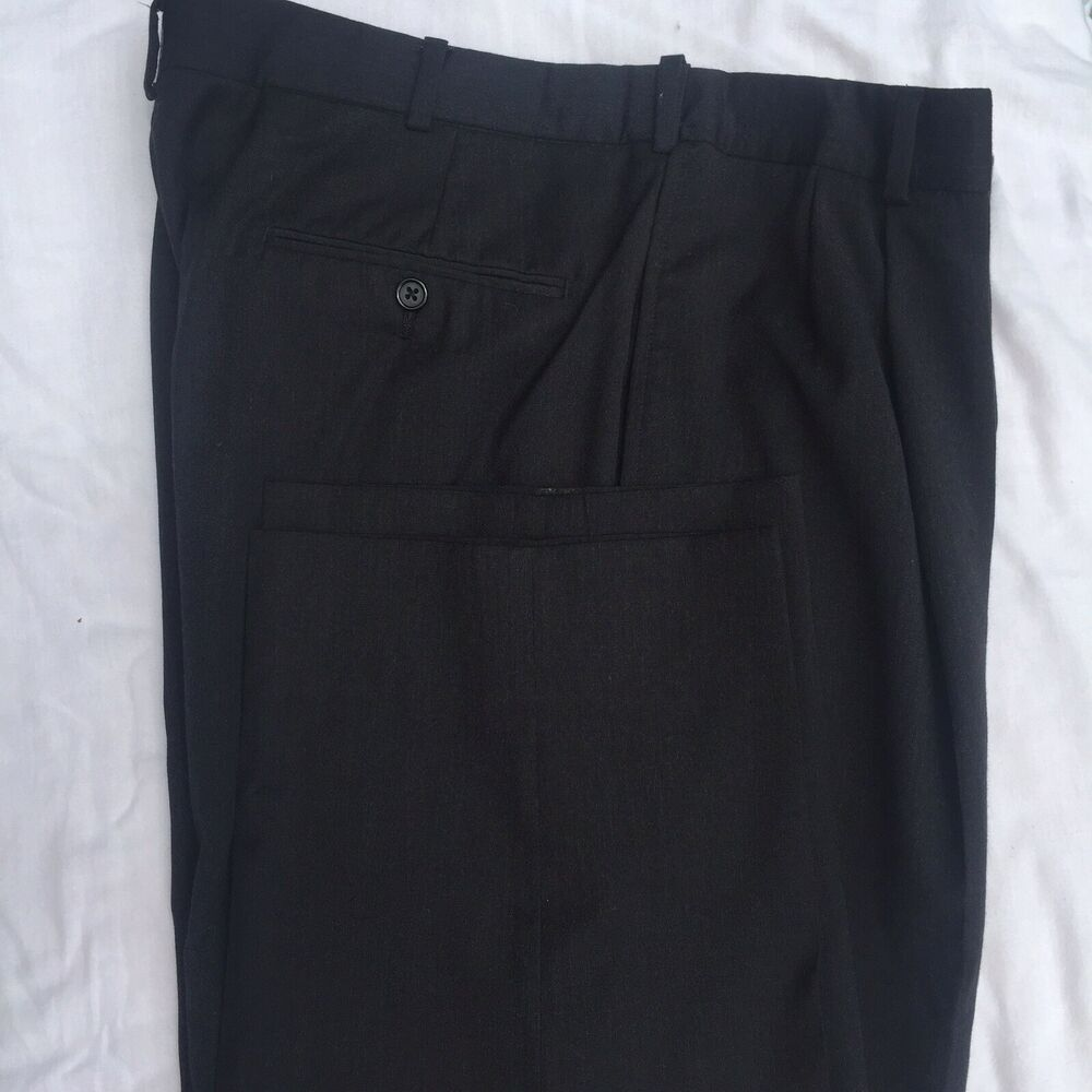 Austin Reed Mens Dress Slack Pants Black Size 36 X 32 London Reed Lined Austinreed Dressslacks Business Mens Dress Slacks Men Dress Slack Pants
