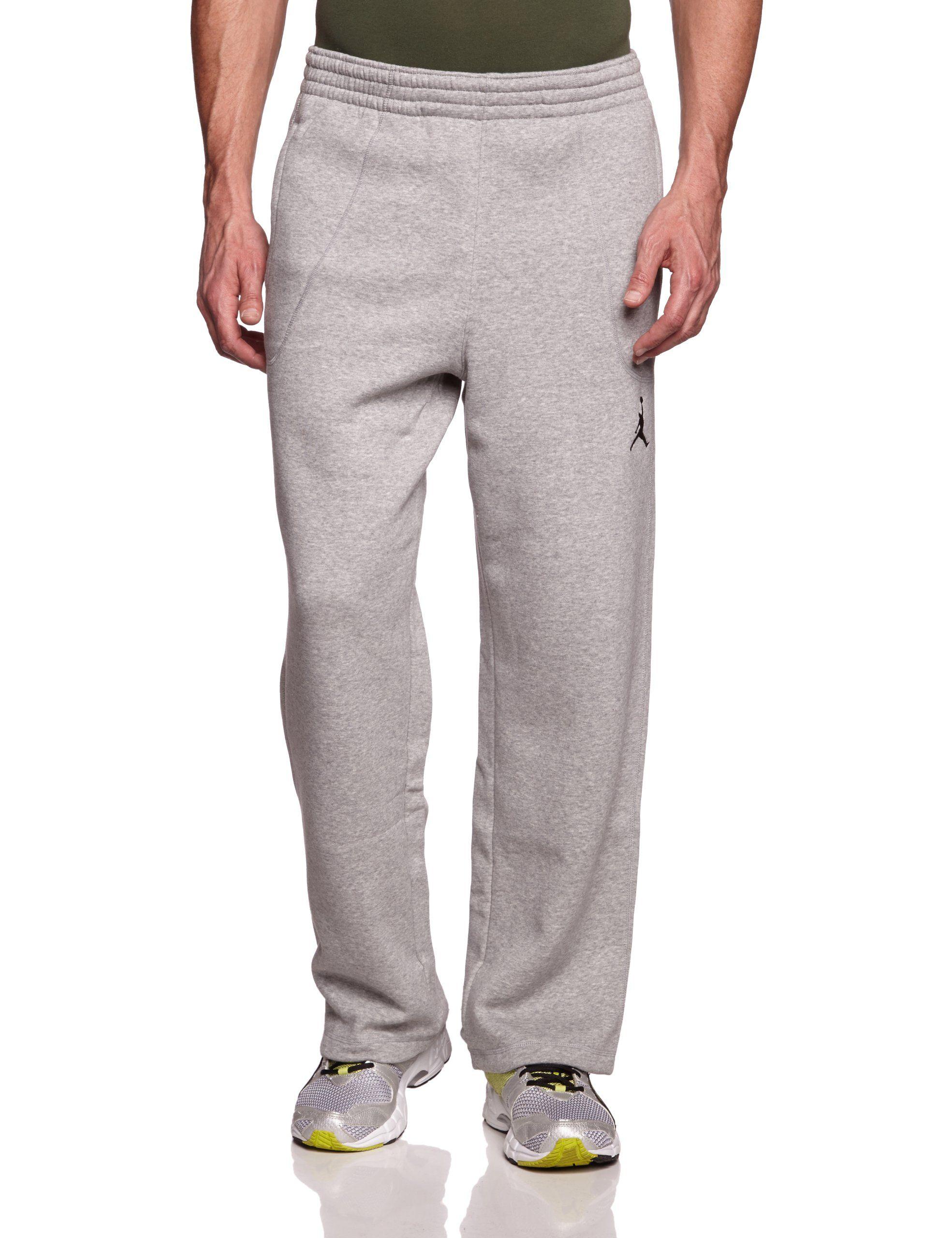 1a41c8270dd65e Mens Nike Air Jordan 23 7 Fleece Sweatpants Dark Grey Heather Black  547662-063 Size X-Large