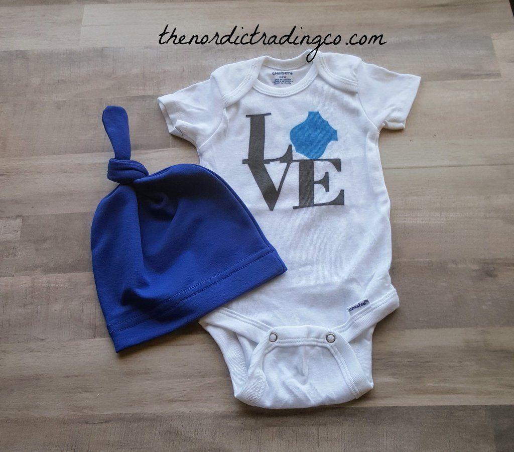Baby Bodysuit Thin Blue Line Police Baby Clothes for Infant Boys and Girls