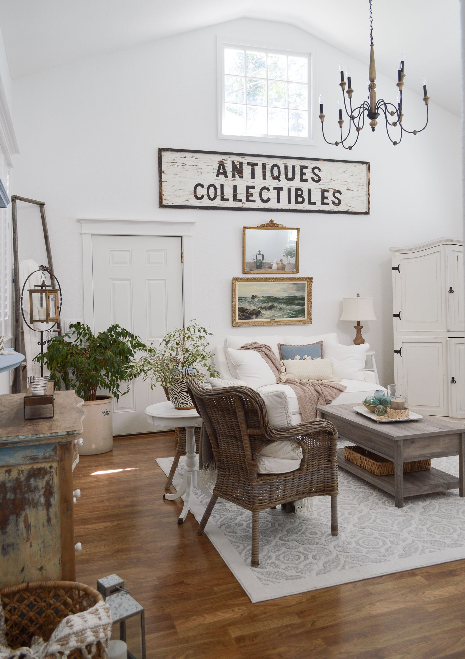 New Home Decorating Tips and Ideas | Farmhouse style, Living rooms ...